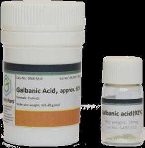 Galbanic acid vial