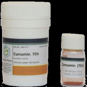 curcumin vial