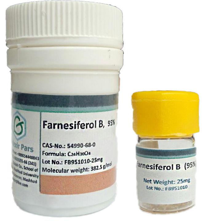 Farnesiferol B vial